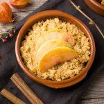 Quinoa aux pommes et à la cannelle