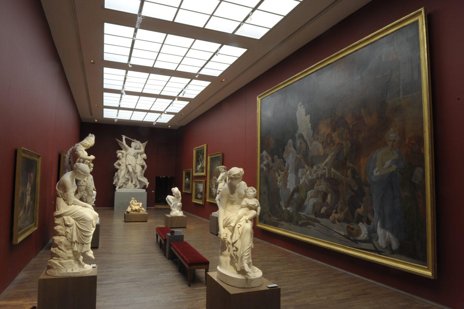Musée des Beaux-arts d'Angers, salle Gumery