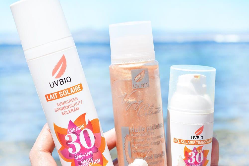 UVBIO : des soins solaires bio & vegan