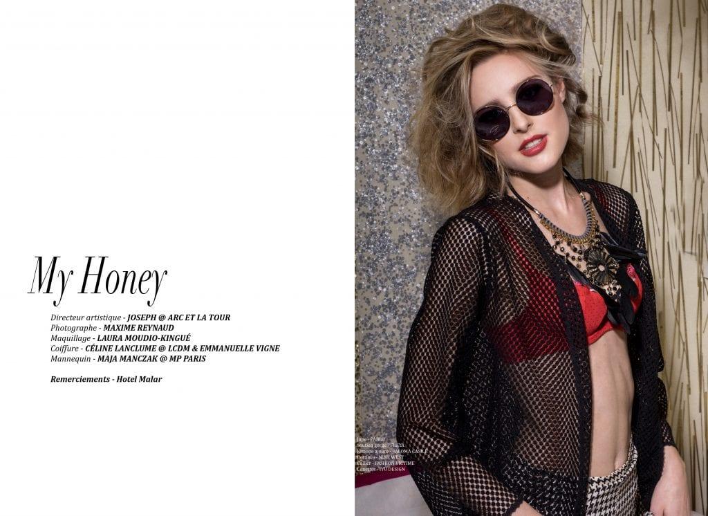 "Éditorial ""My honey"" par Maxime Reynaud"