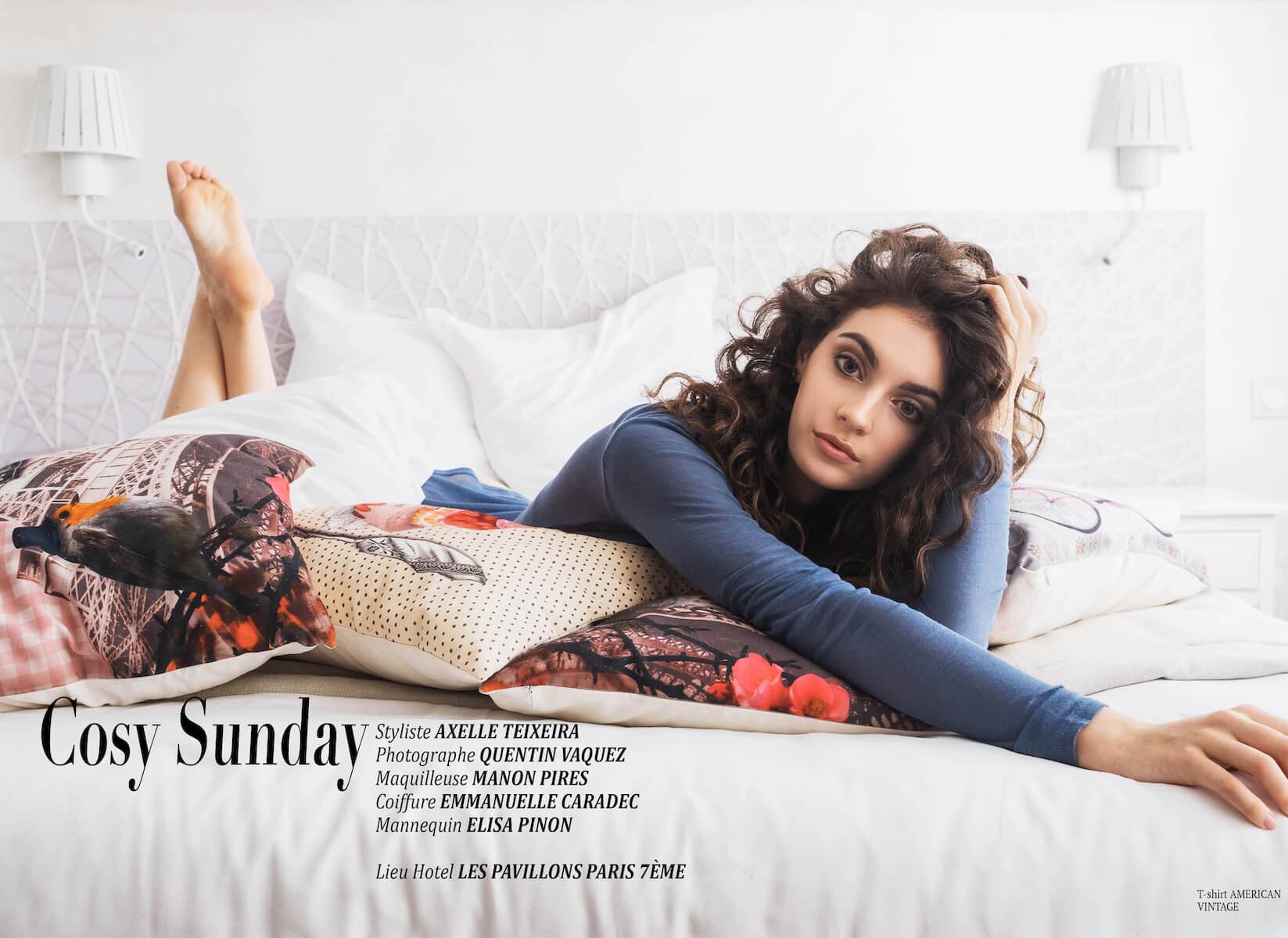 """Éditorial """"Cosy Sunday"""" par Axelle teixeira"""