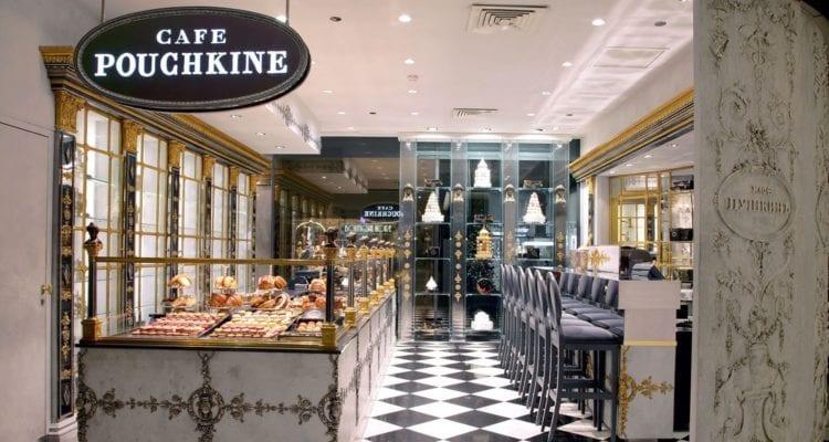 Les douceurs bucoliques et estivales made in Café Pouchkine