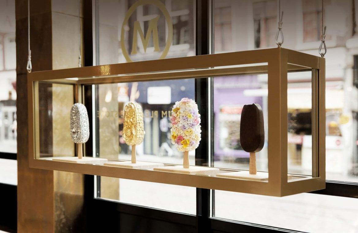 La crème glacée Magnum 100% made by you !