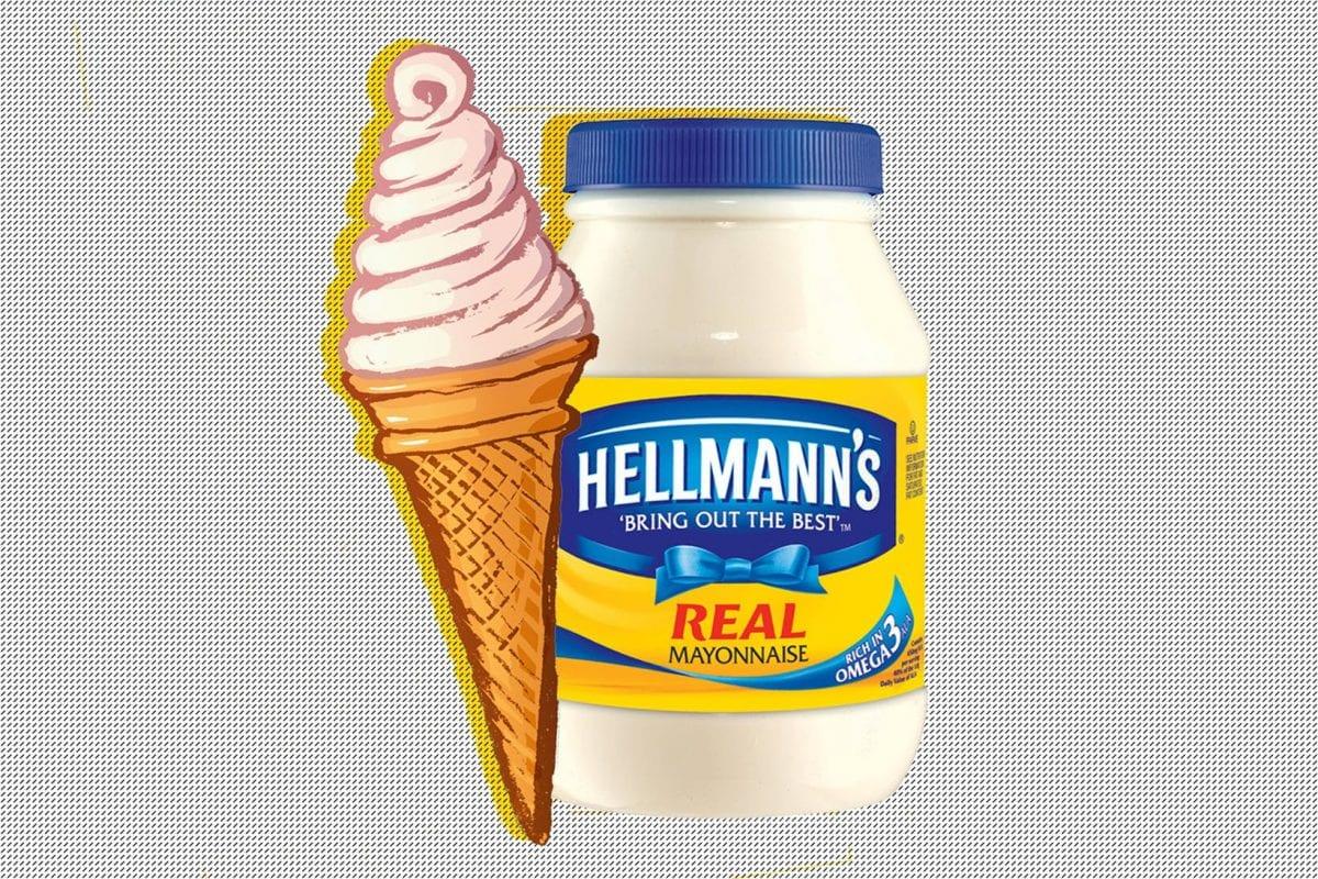 Une (délicieuse) glace à la mayonnaise, ça vous tente ?