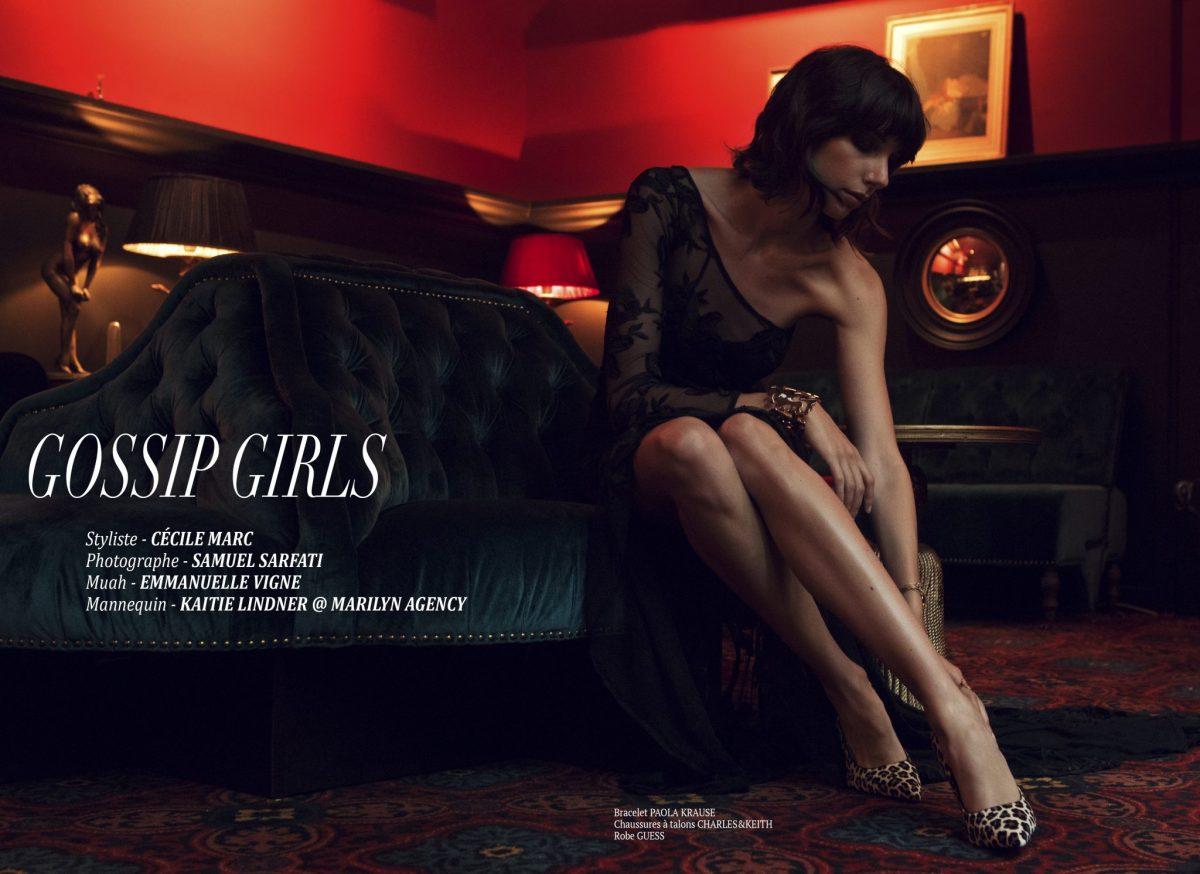 """Editorial """"Gossip girls"""" par Cécile Marc"""