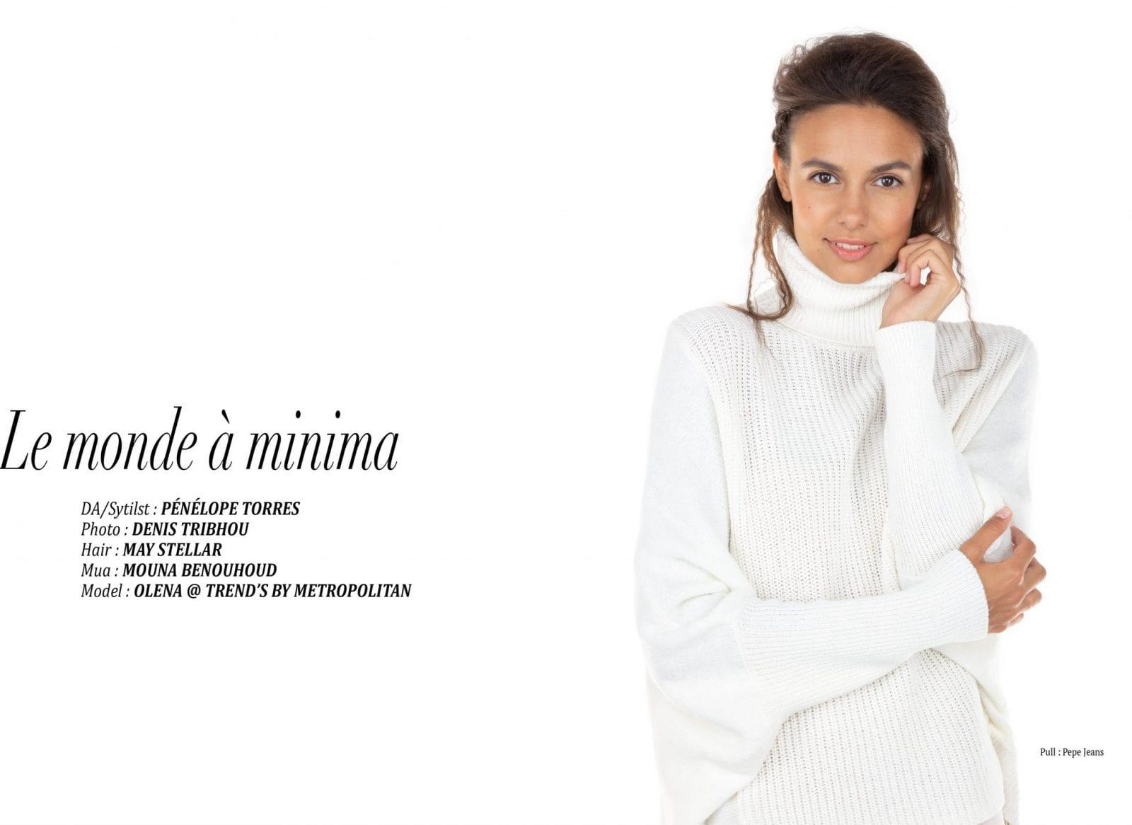 """Éditorial """"Le monde à minima"""" par Peneloppe Torres"""