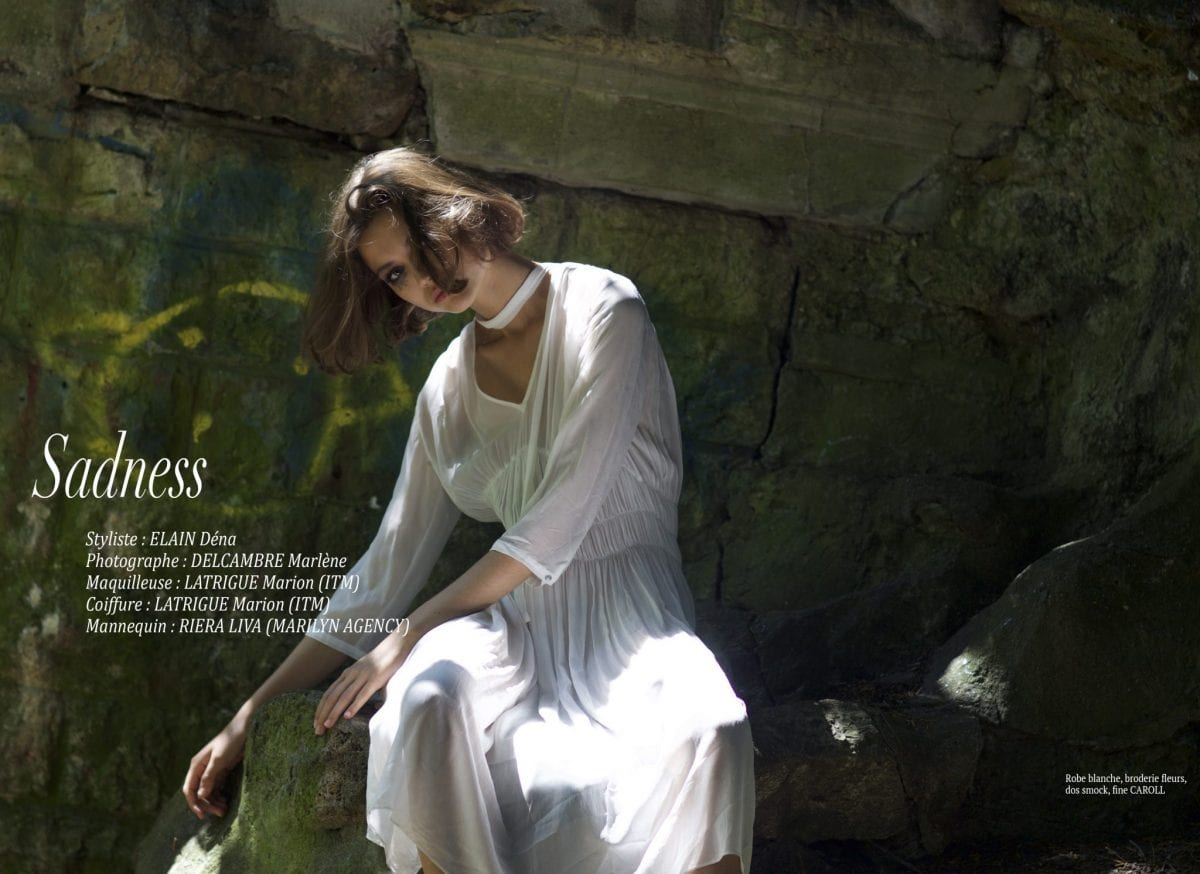"""Éditorial """"Sadness"""" par Déna Elain"""