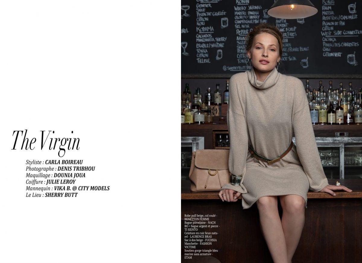 """Éditorial """"The virgin"""" par Carla Boireau"""