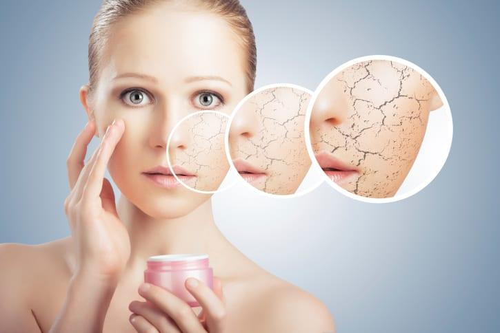 Pourquoi notre peau est-elle sèche?