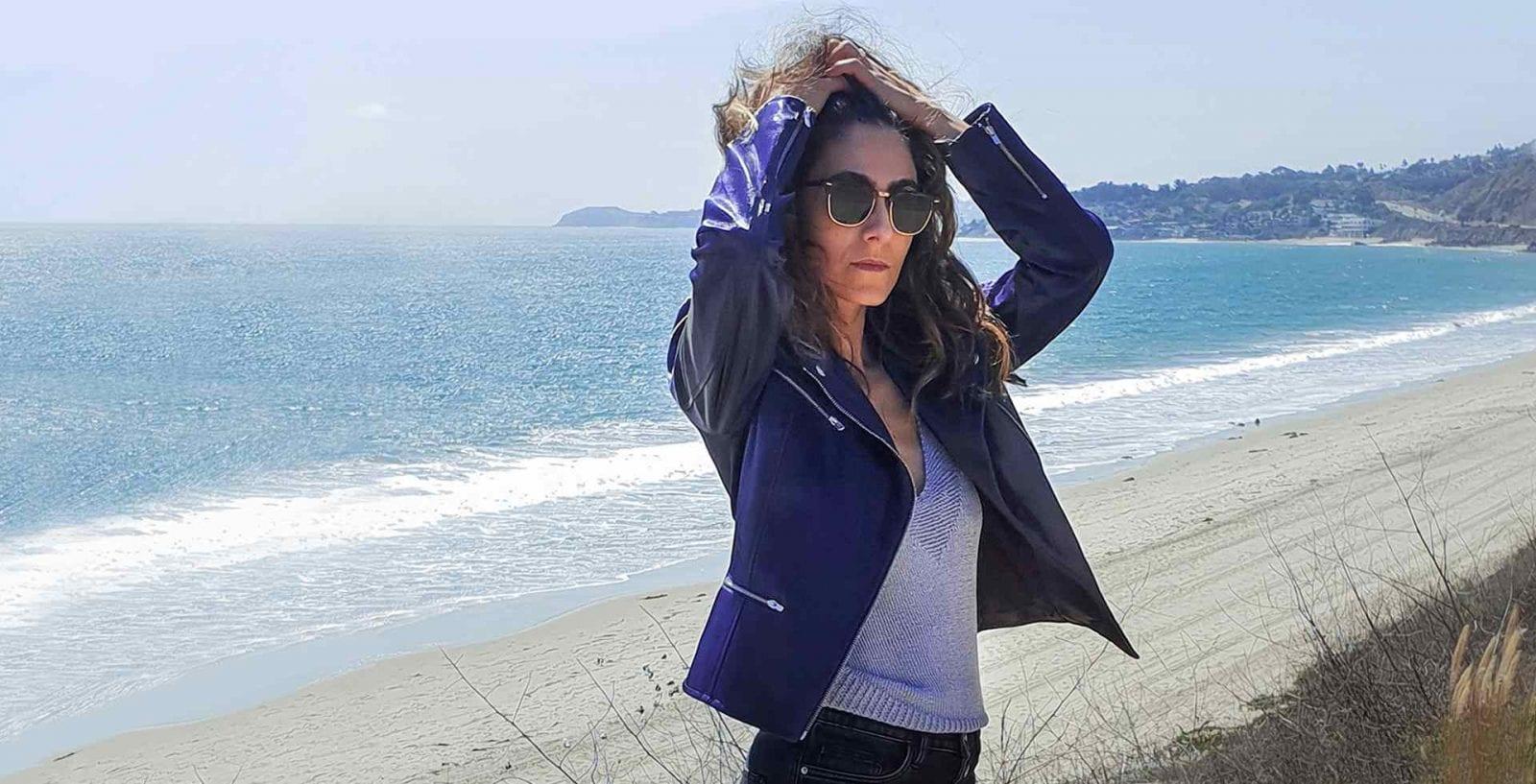 Modèle Perfecto Mia : vêtement éthique en coton bio
