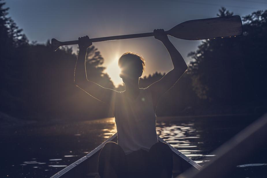 Canoe-kayak nocturne