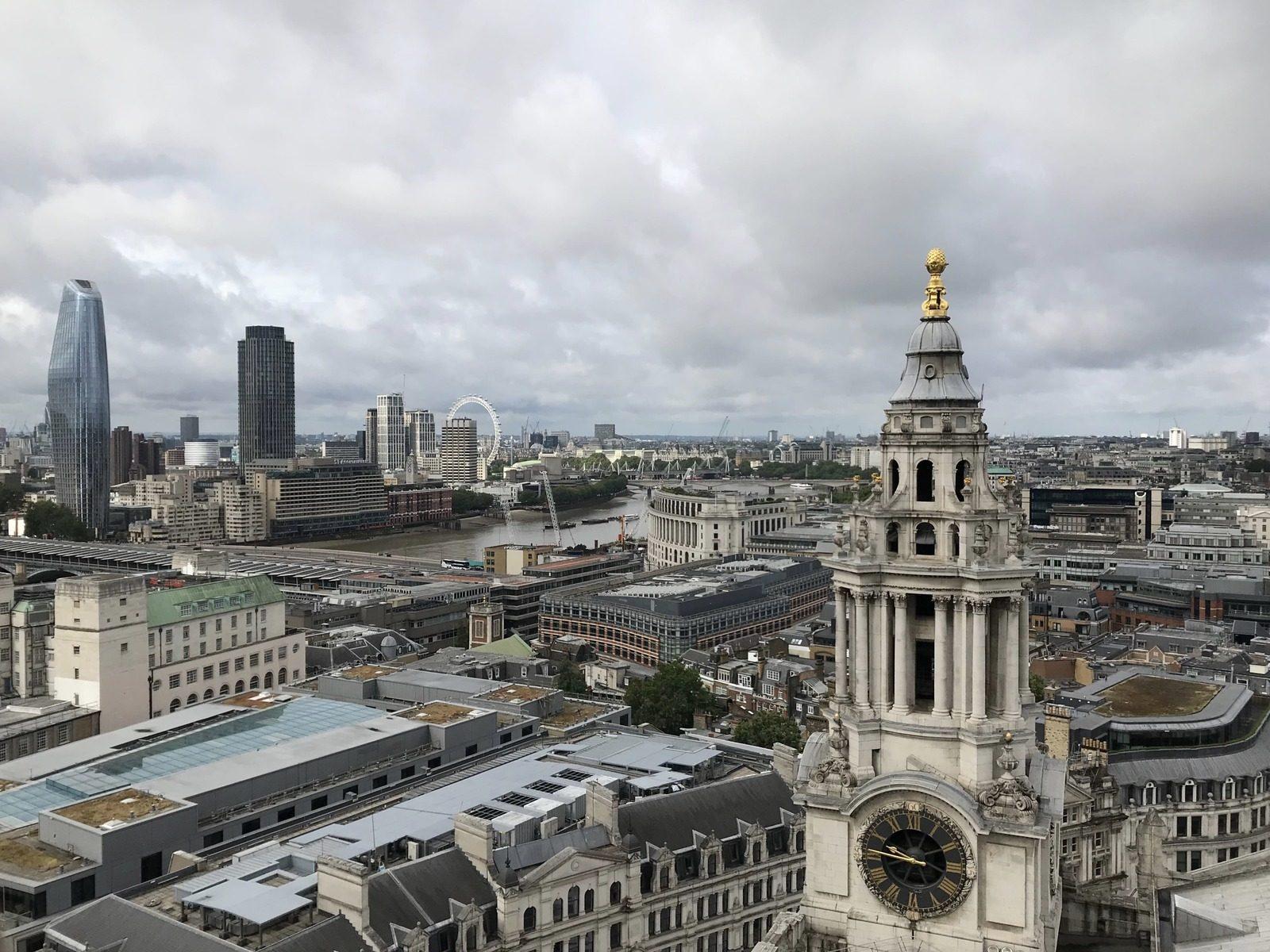 Vue de Londres St Paul's Cathedral