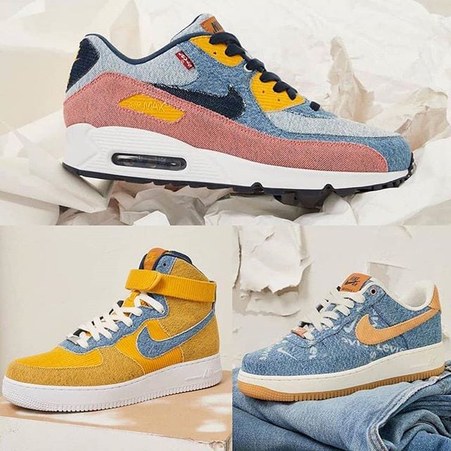"La collaboration Levi's x Nike ""by you"""