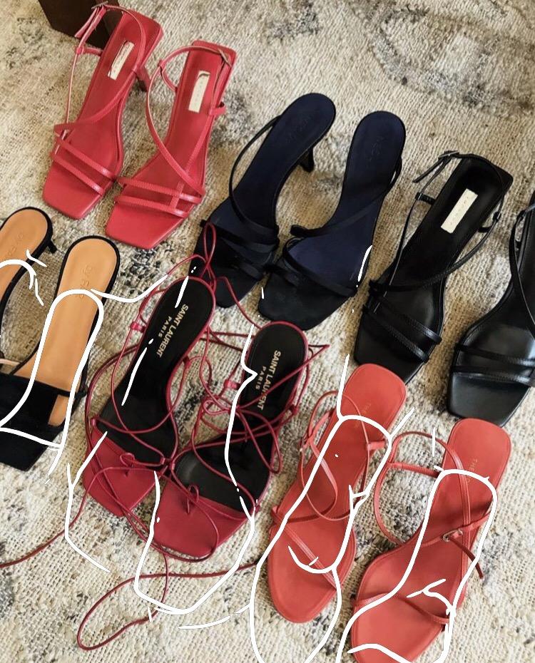 Chaussures tendances été 2019