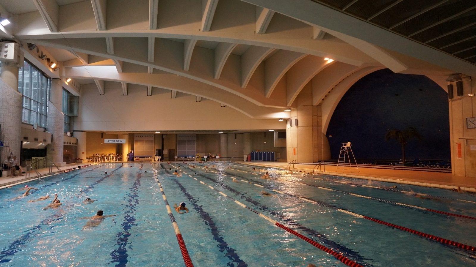 piscine forum Les Halles