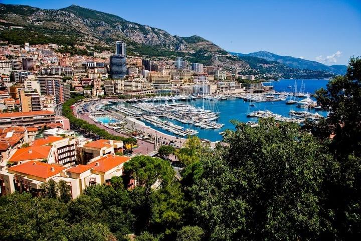 La Côte d'Azur – un paysage de rêves