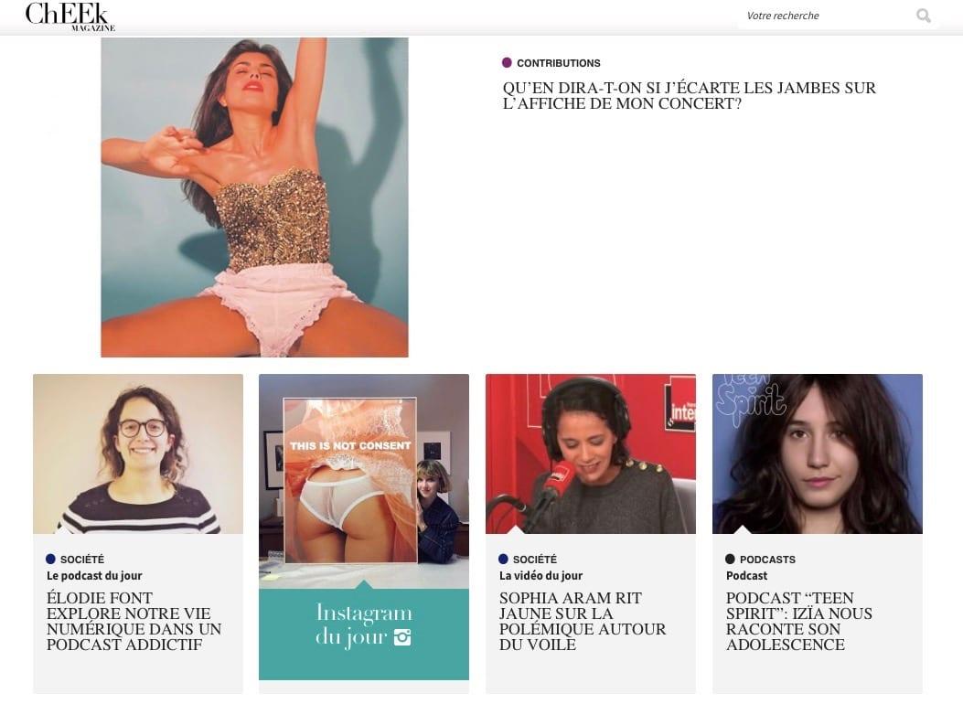 web magazine psycho société