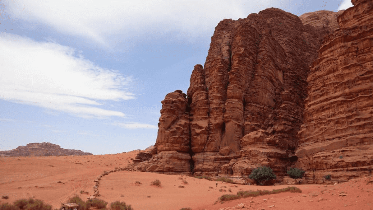 Les canyons du wadi rum