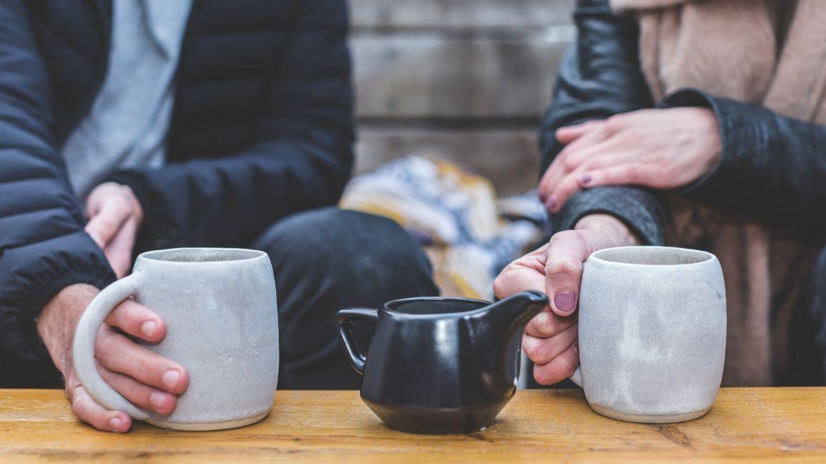 pause café entre amis