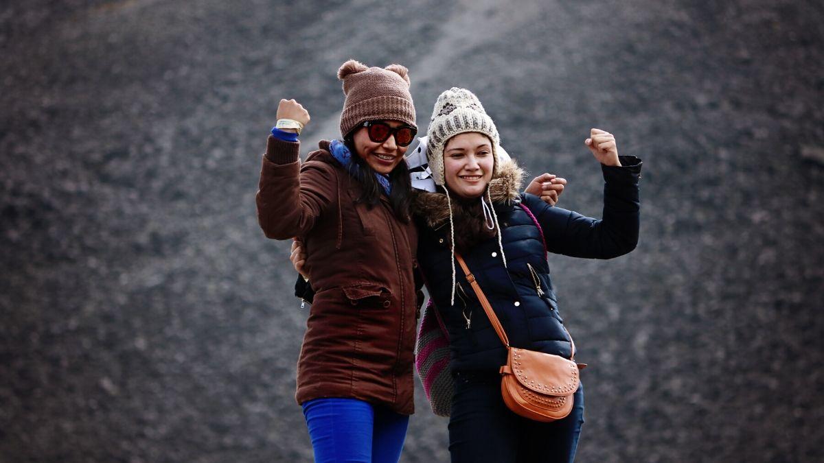 la positive attitude face à l'hiver