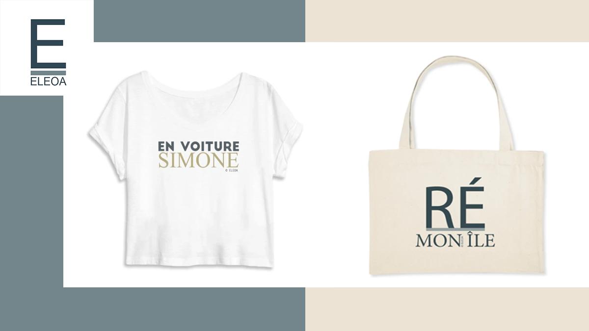 sac éthique et t-shirts éthiques