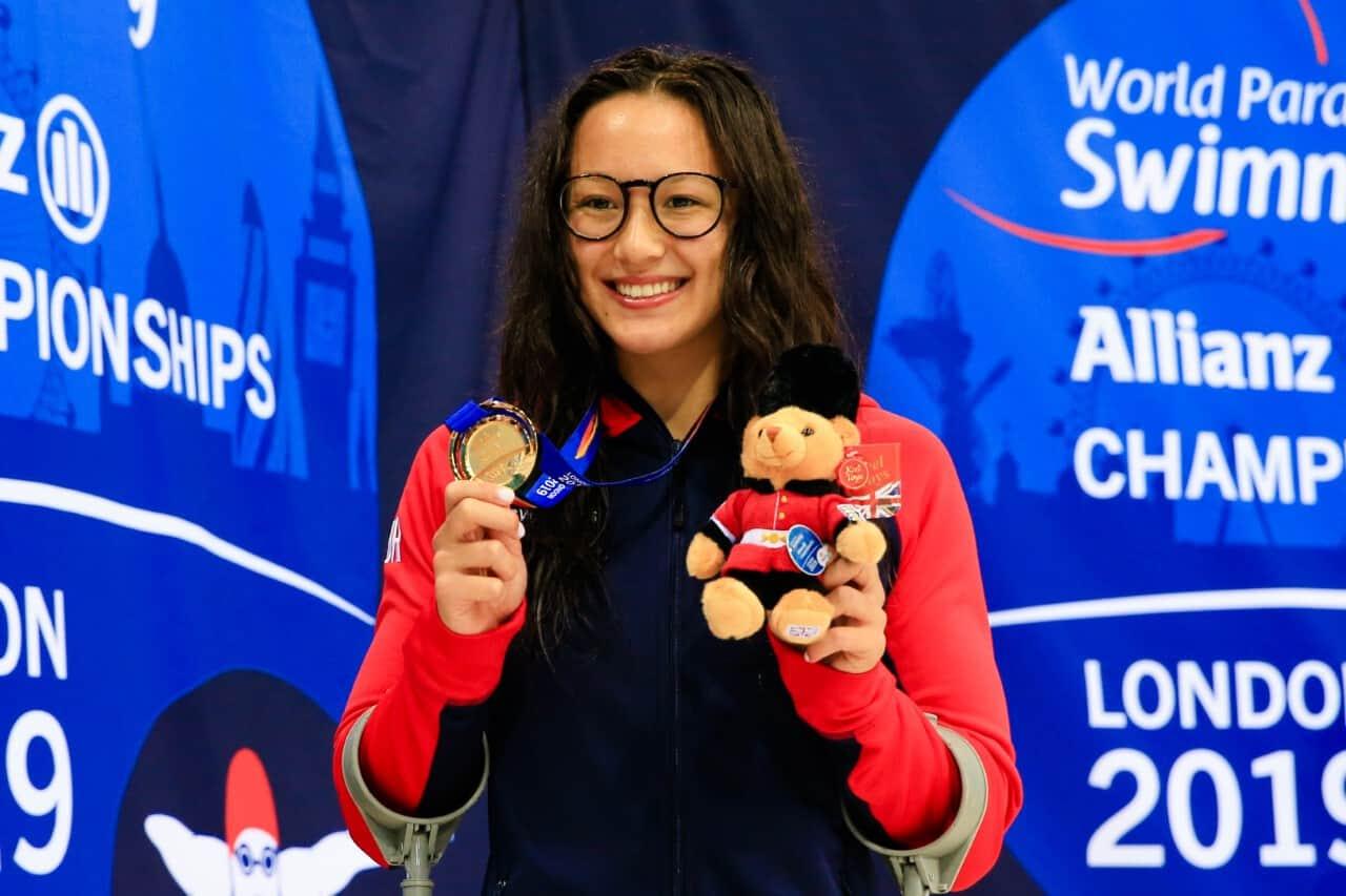 Alice Tai, la para-nageuse qui a conquis les eaux de Londres