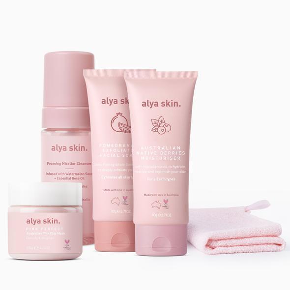 skin care bundle pour une peau hydratée