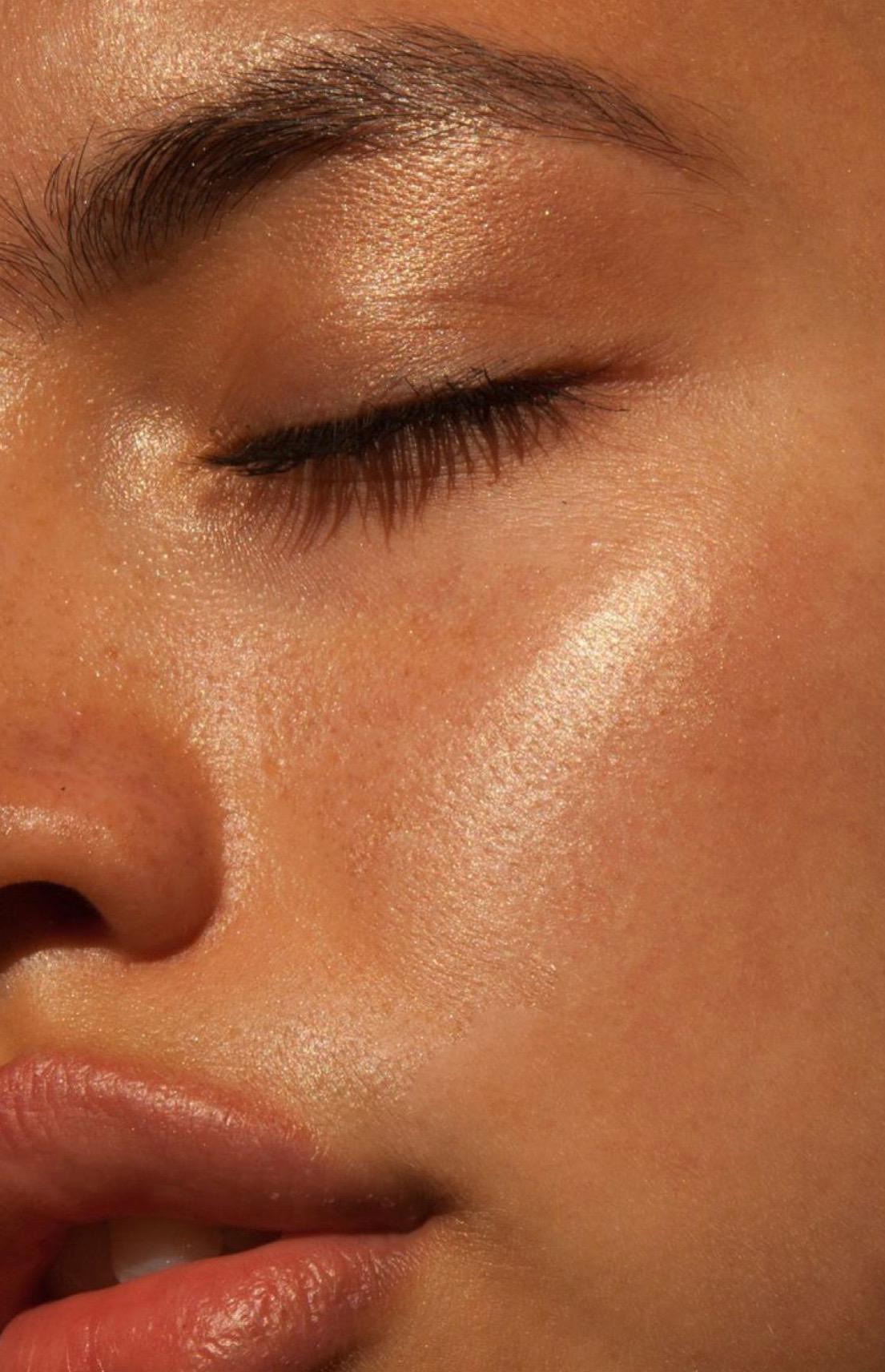 peau eclatante