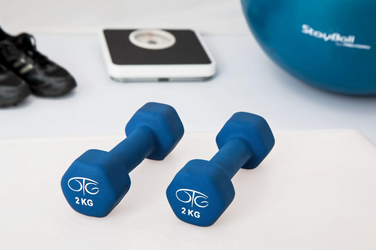 Exercices de fitness variés
