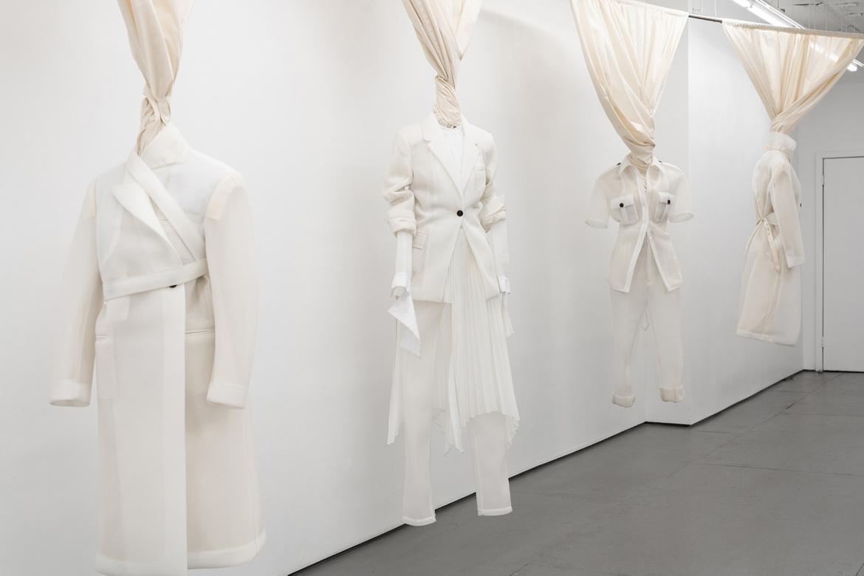"""Image d'une collection réalisée en """"space"""" matière inventée par le créateur Peter Do"""