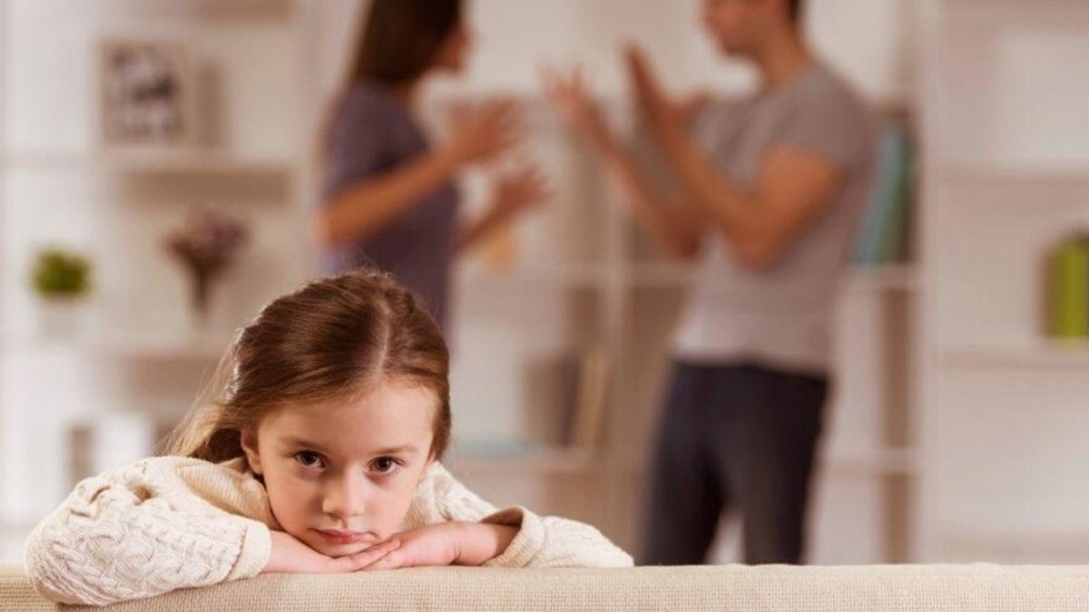 enfant au coeur d'une dispute de couple