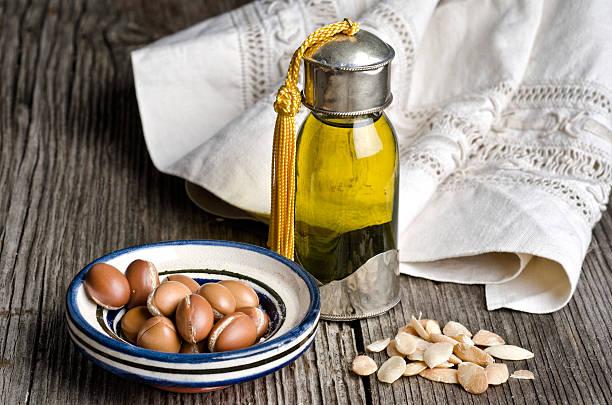 Les huiles végétales, l'huile d'argan