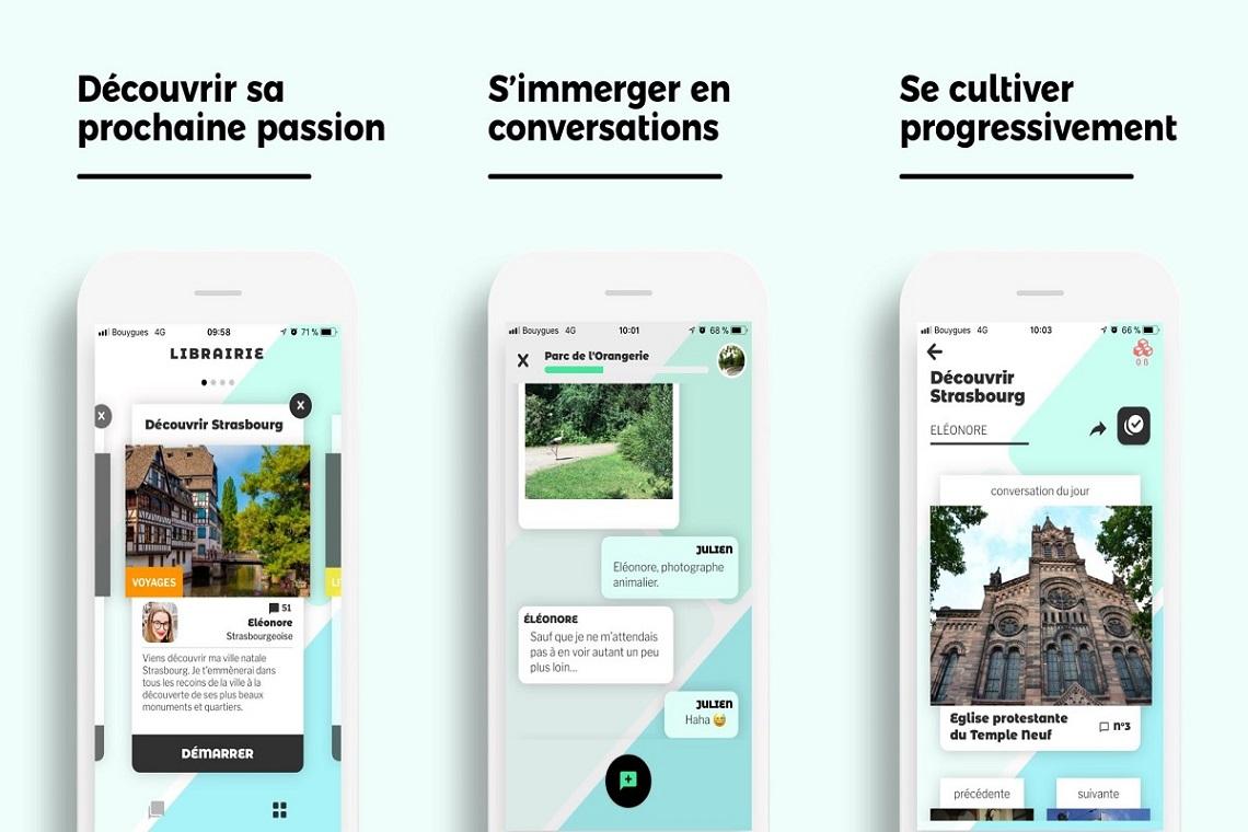 Minitopo - Une application culturelle qui est à la fois originale et accessible