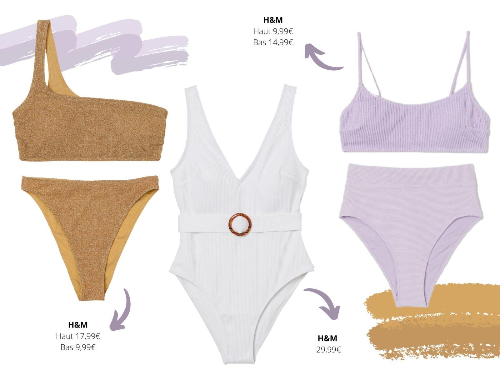Les maillots de bain échancrés seront les rois de la plage.