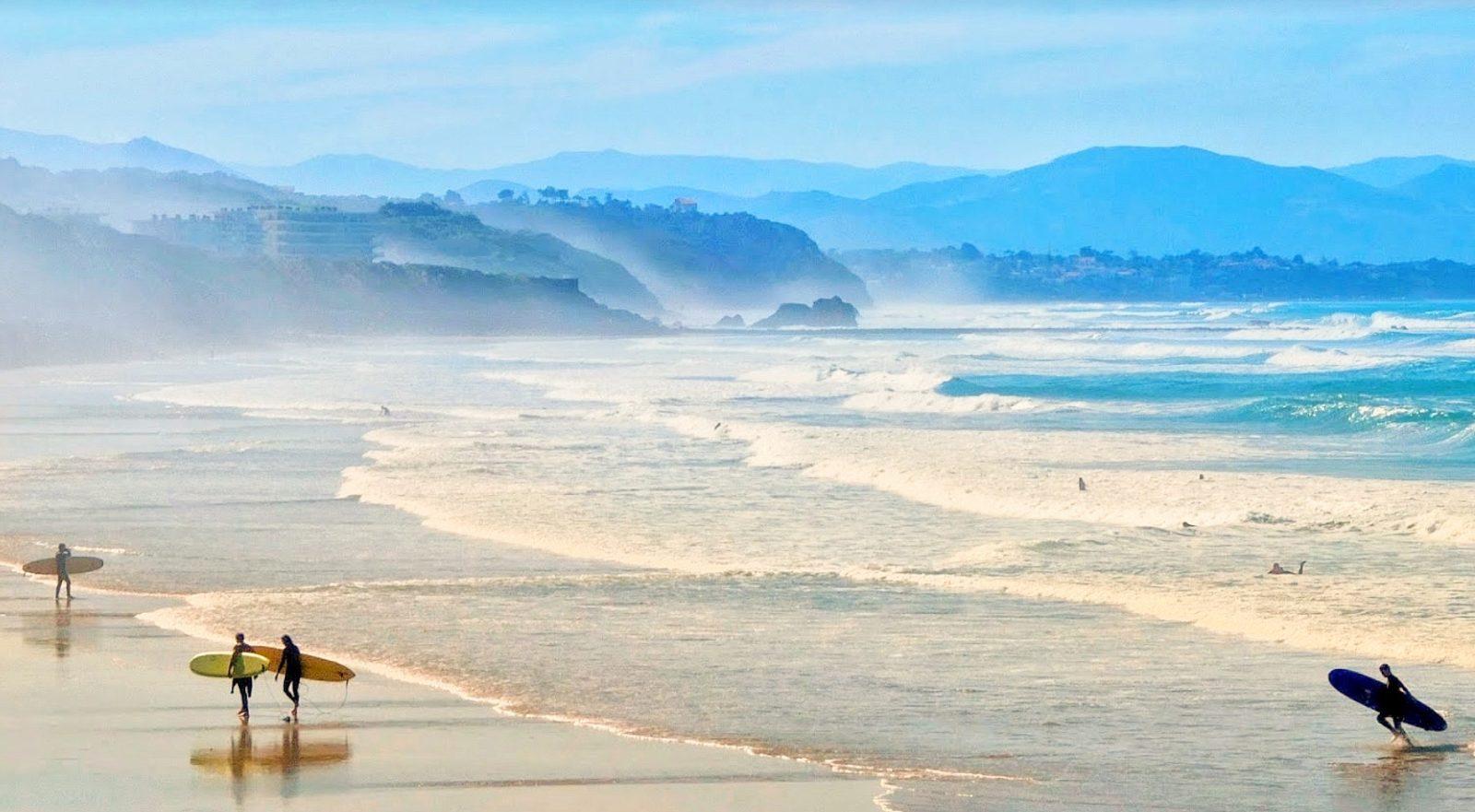 Plage de la côte des basques, Biarritz