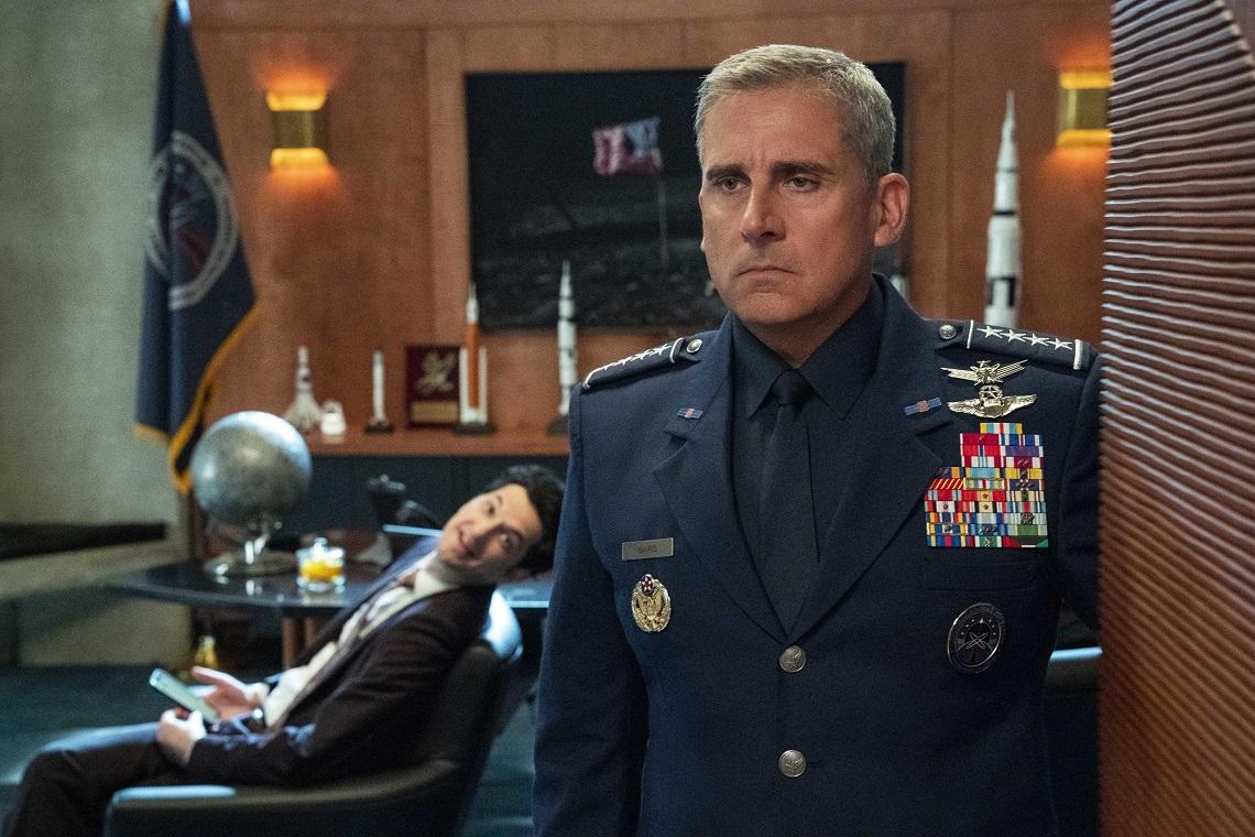 Space Force : une série Netflix complètement lunaire