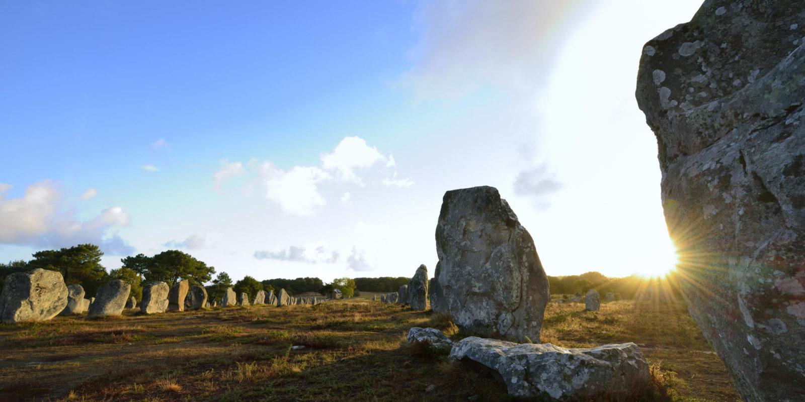Alignements megalithiques© Yvon Boelle