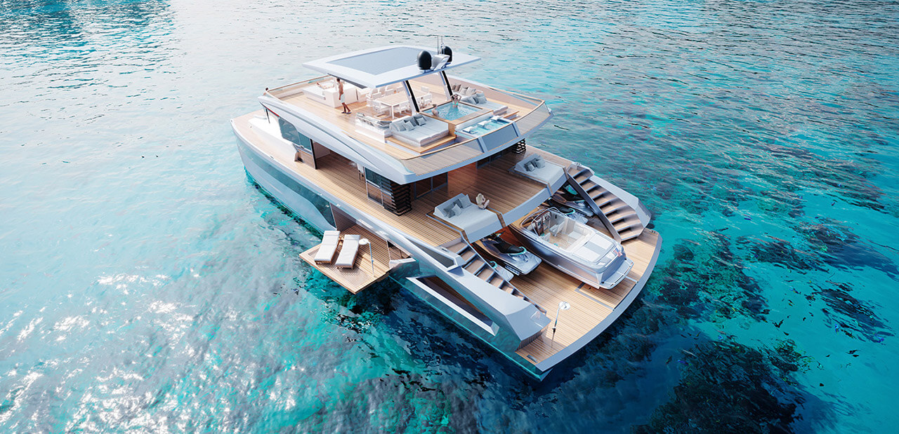 Yachts Lazzara Catamarans
