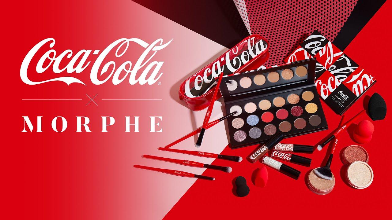 Coca-Cola x Morphe : la collaboration make-up de l'été