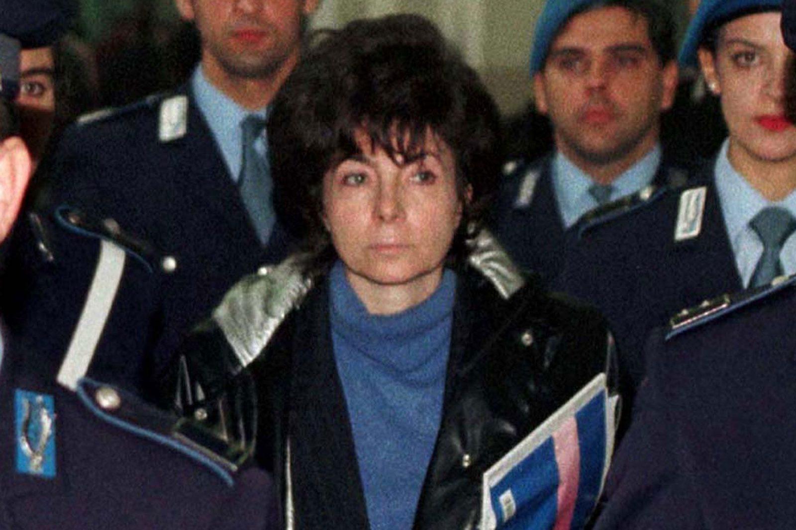 """Patrizia Reggiani, la """"veuve noire"""" ©Paris Match"""