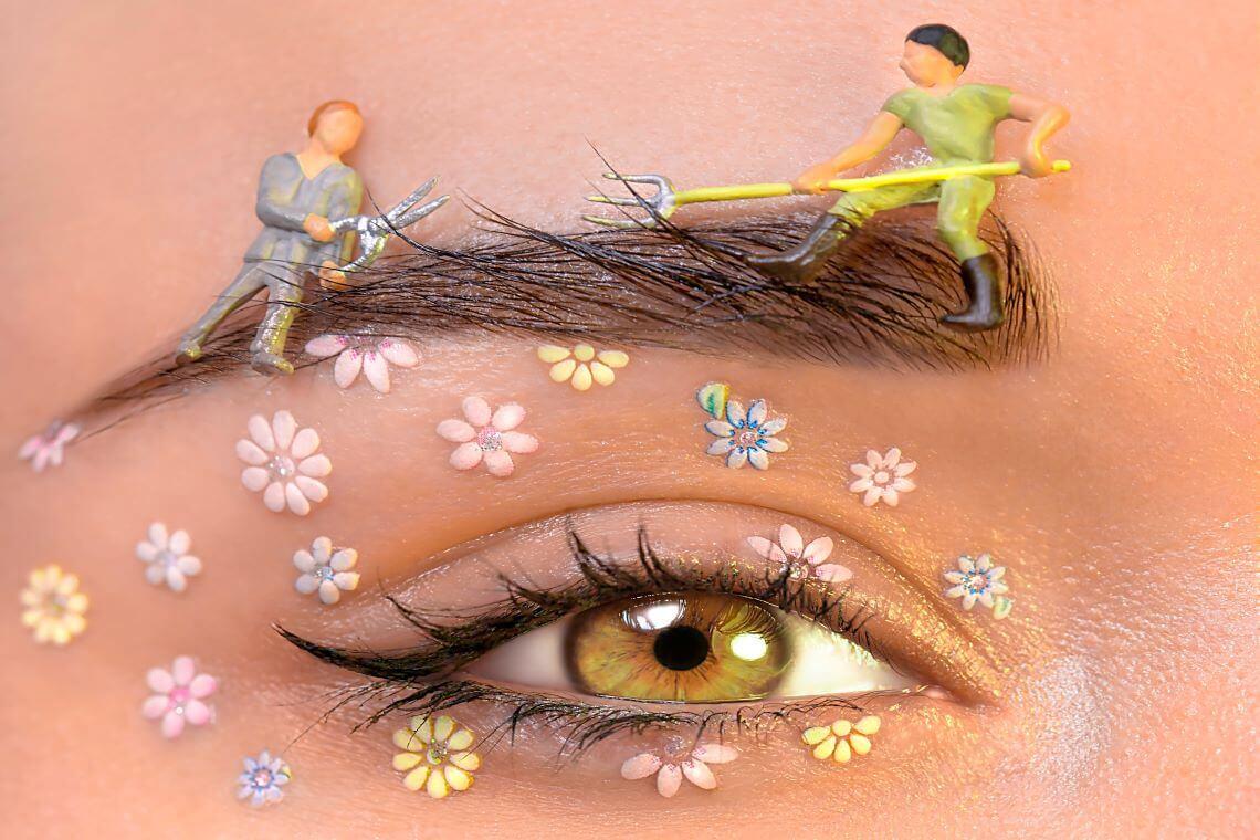 maquillage créatif artistique - (c) Jessica Gaudioso - Pexels