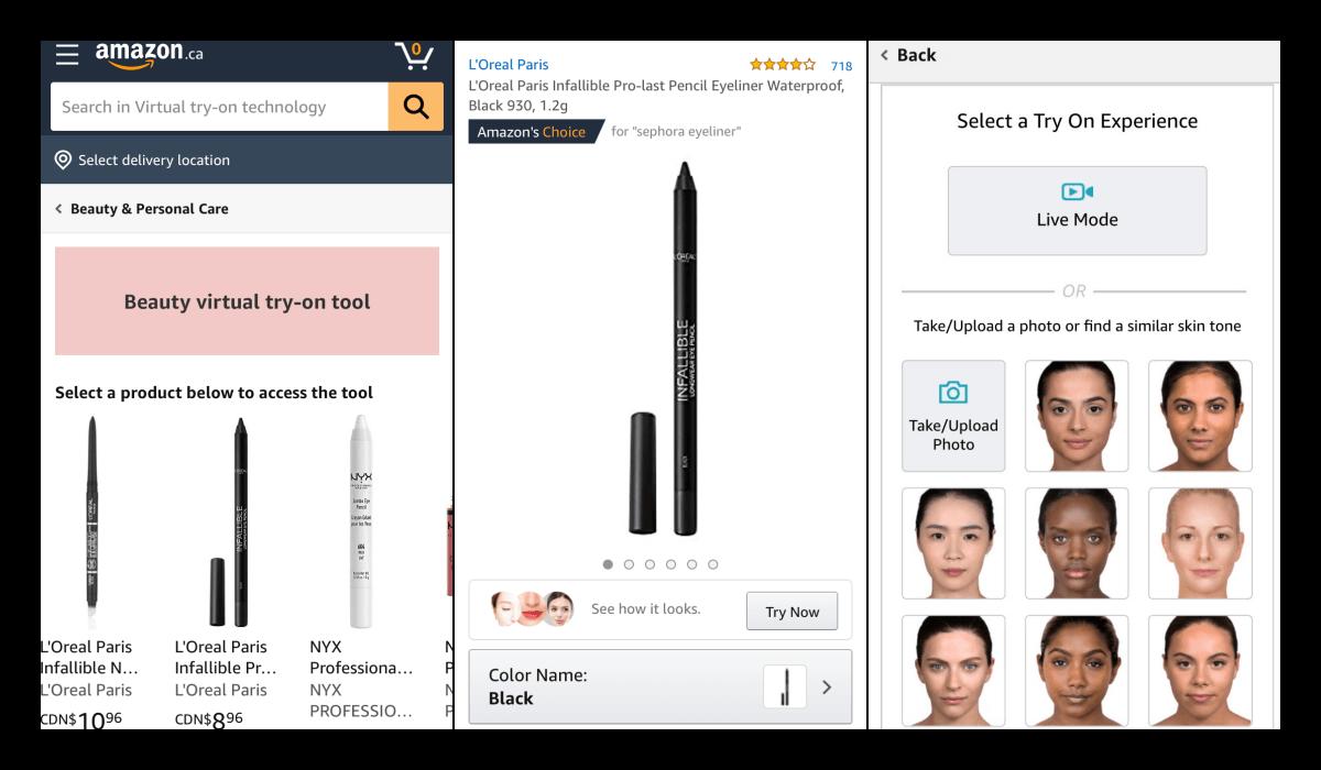 ModiFace par L'Oréal sur le site d'Amazon. Test du logiciel.
