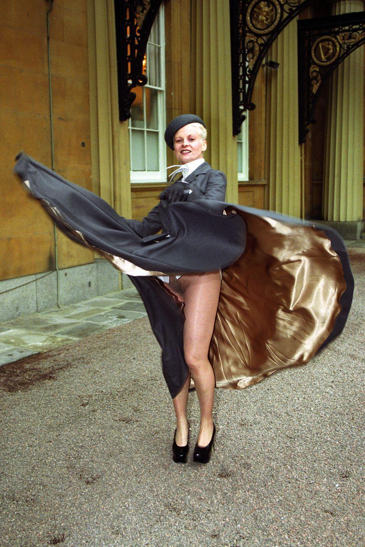 Vivienne Westwood : la sans culotte ! ©Yahoo News