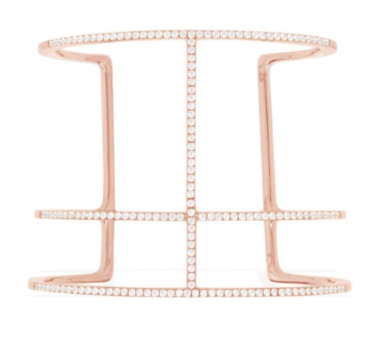 Le bracelet jonc APM Monaco Croisette rose - Collection ADN