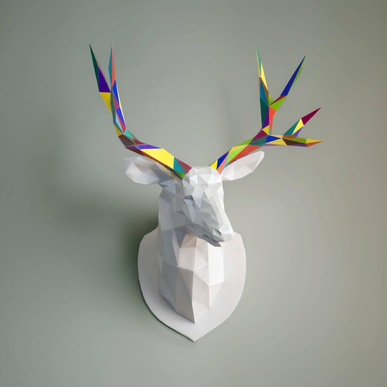 Décoration d'intérieur, Ecogami, papercraft, puzzle 3D, design, loisirs créatifs