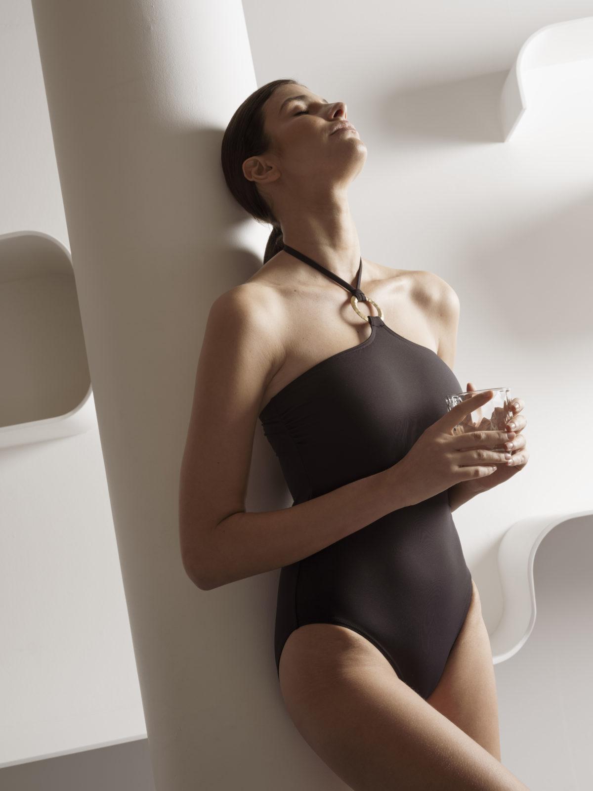Maillot de bain noir éco-responsable Milo Ange des Mers - Ô Magazine