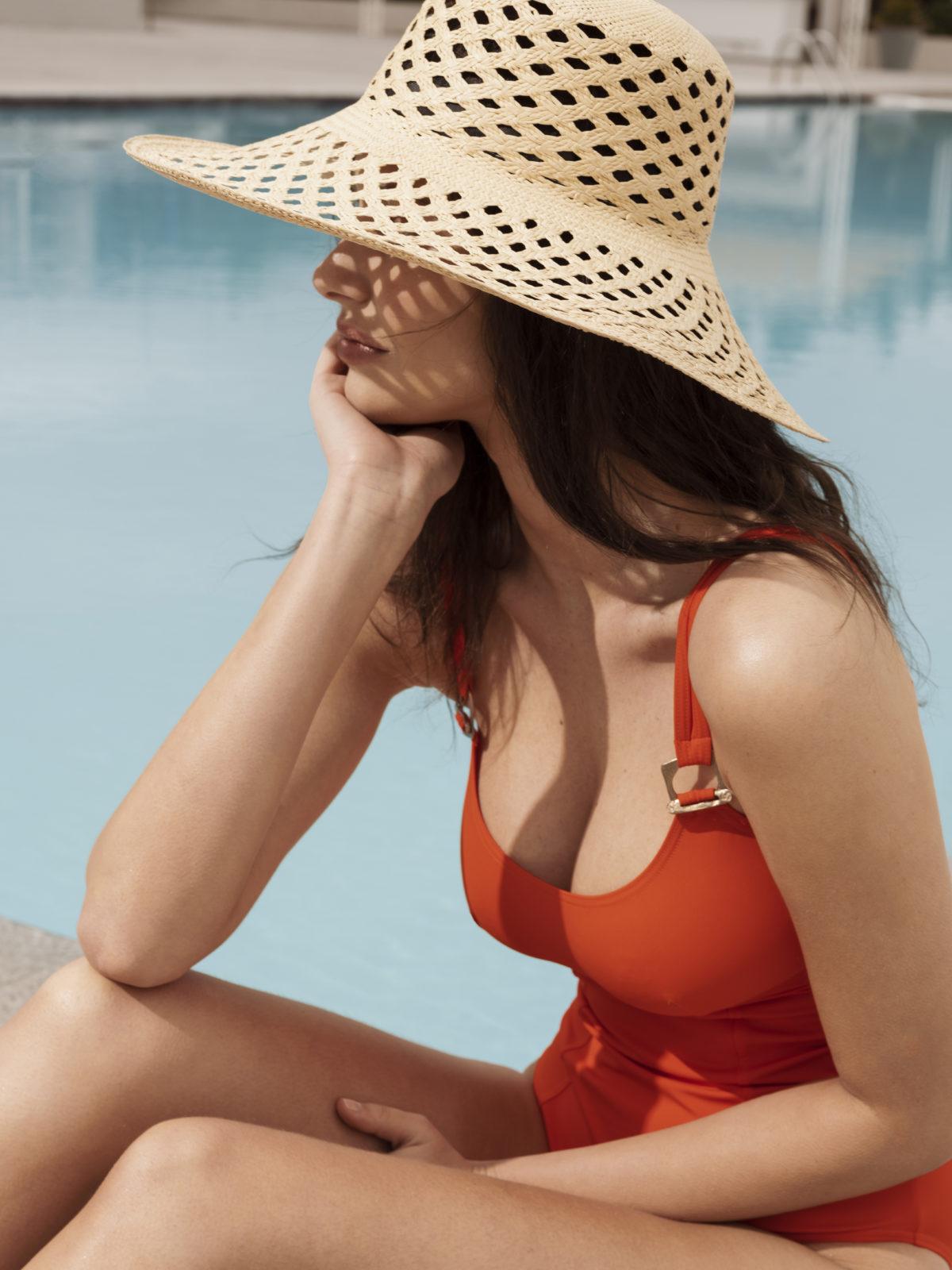 Maillot de bain orange éco-responsable Venus Ange des Mers - Ô Magazine