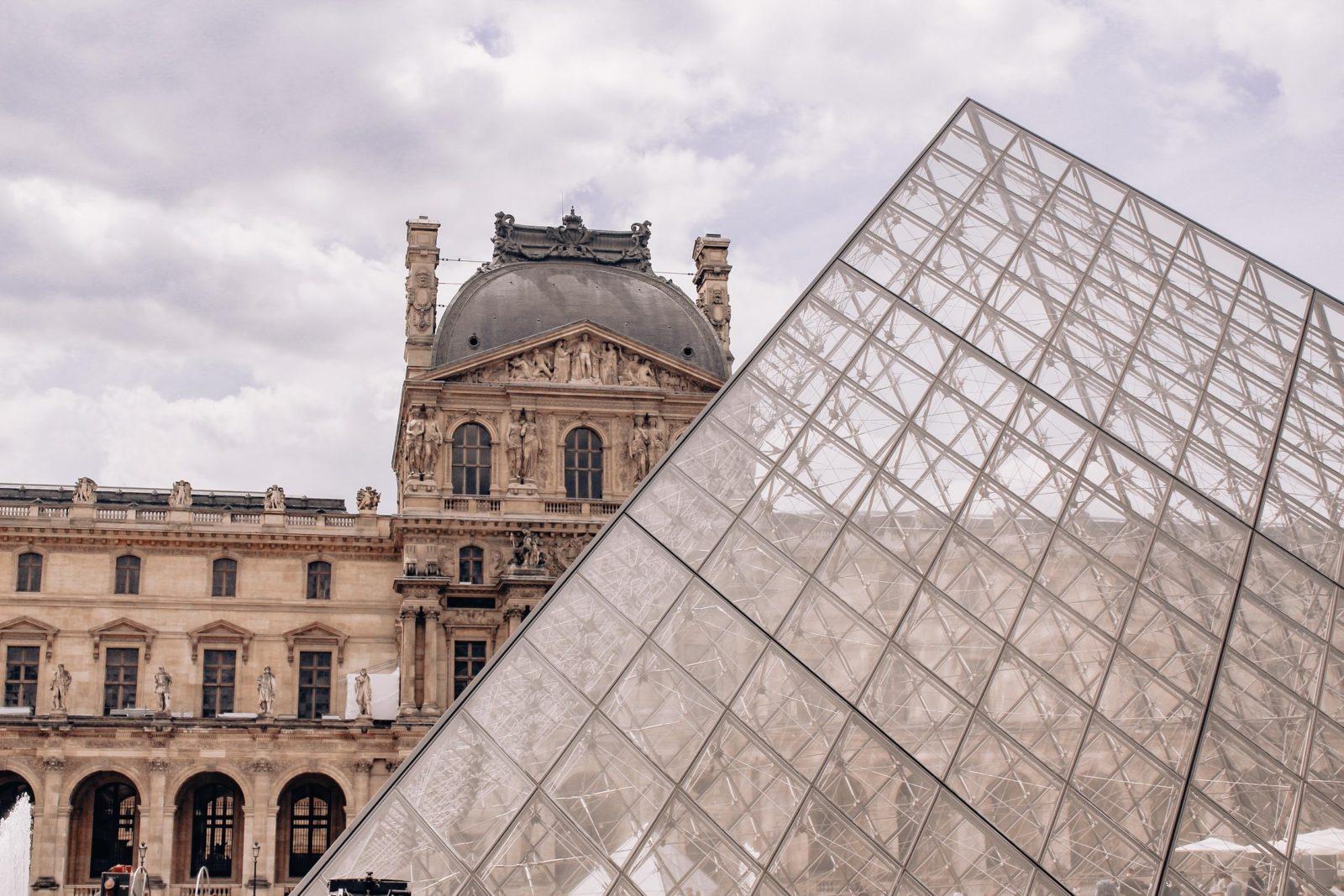 Musée Louvre Paris France Digital Culture Art