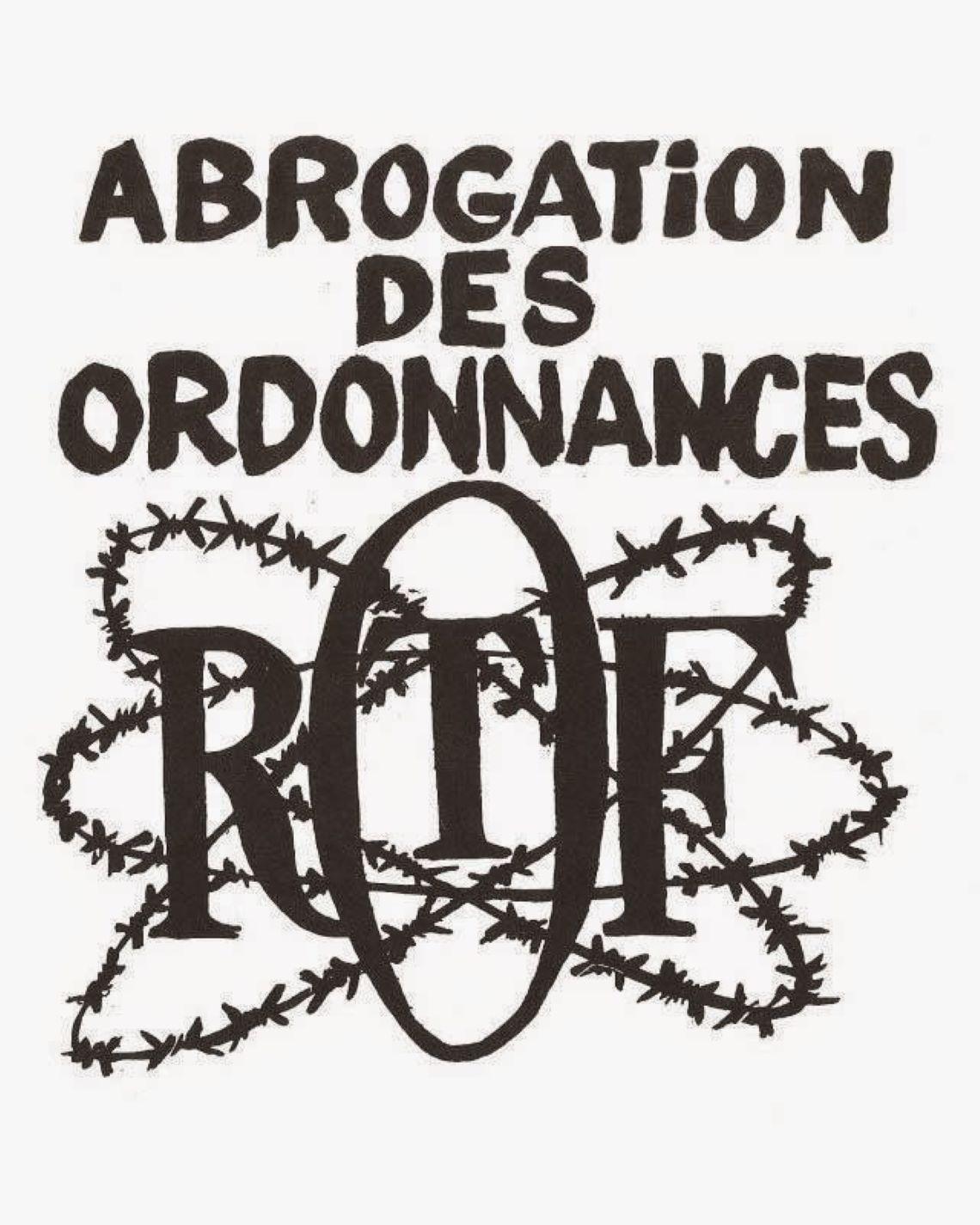Mai 68 : abrogation des Ordonnances