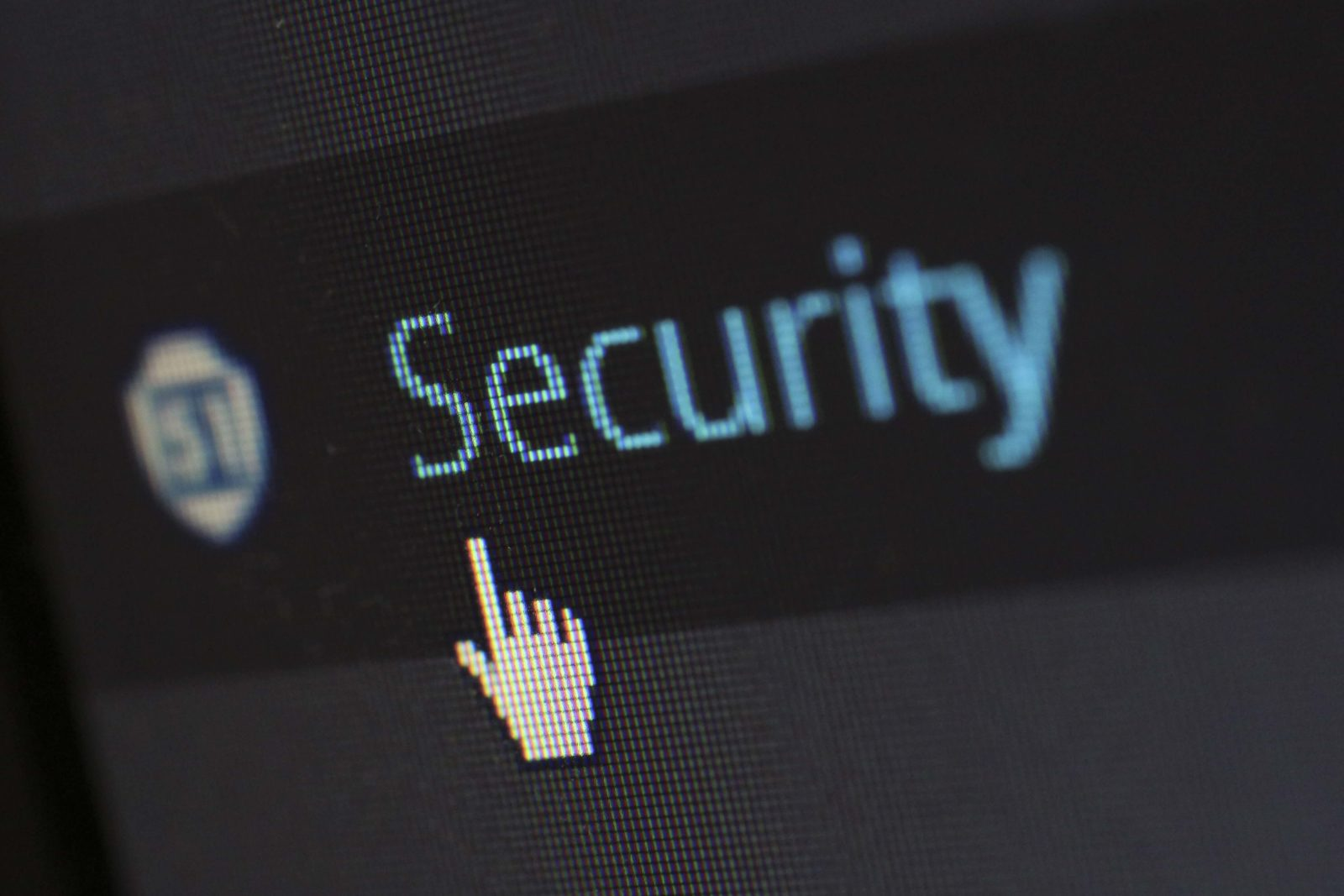 Photo d'un écran d'ordinateur, cybersécurité.